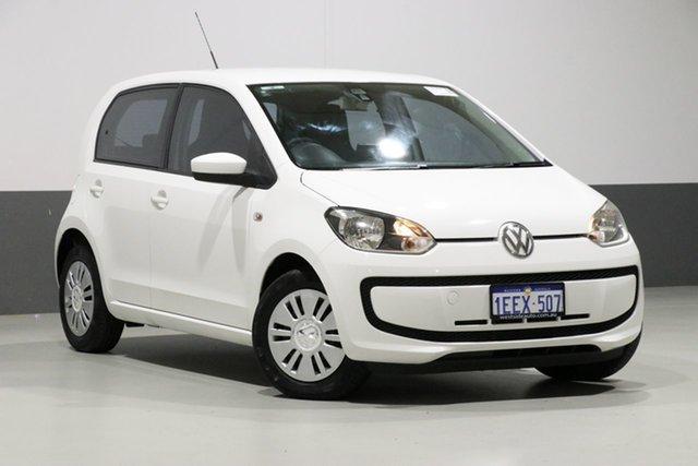 Used Volkswagen UP! AA , 2012 Volkswagen UP! AA White 5 Speed Manual Hatchback