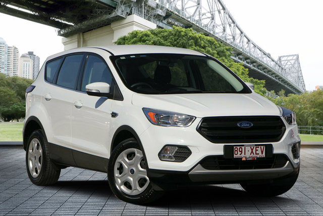 Used Ford Escape ZG 2018.00MY Ambiente 2WD, 2017 Ford Escape ZG 2018.00MY Ambiente 2WD White 6 Speed Sports Automatic Wagon