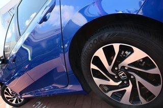 2018 Honda Civic 10th Gen MY18 VTi-S Blue 1 Speed Constant Variable Sedan