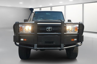 2015 Toyota Landcruiser VDJ79R MY12 Update GX (4x4) Silver Pearl 5 Speed Manual Cab Chassis