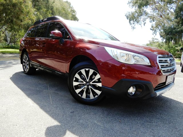 Used Subaru Outback B6A MY17 2.5i CVT AWD Fleet Edition, 2017 Subaru Outback B6A MY17 2.5i CVT AWD Fleet Edition Venetian Red 6 Speed Constant Variable Wagon