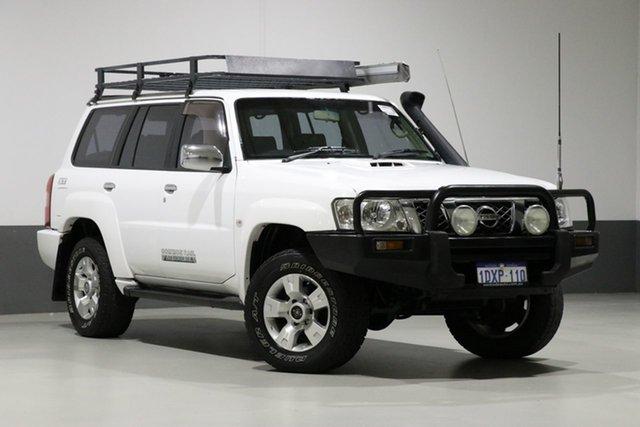 Used Nissan Patrol GU VI ST (4x4), 2008 Nissan Patrol GU VI ST (4x4) White 5 Speed Manual Wagon