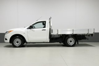 2012 Mazda BT-50 XT (4x2) White 6 Speed Manual Cab Chassis