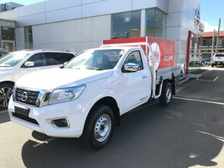 2019 Nissan Navara D23 S3 RX 4x2 Polar White 6 Speed Manual Cab Chassis