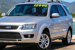 2009 Ford Territory SY MkII TS RWD Silver 4 Speed Sports Automatic Wagon