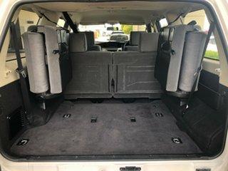 2016 Nissan Patrol Y61 GU 10 ST White 4 Speed Automatic Wagon