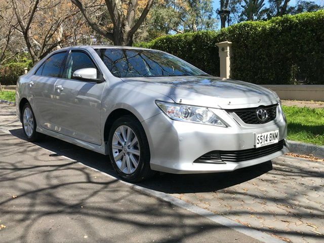 Used Toyota Aurion GSV50R AT-X, 2016 Toyota Aurion GSV50R AT-X Silver 6 Speed Sports Automatic Sedan