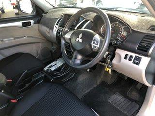 2011 Mitsubishi Challenger PB MY11 LS (5 Seat) (4x4) White 5 Speed Automatic Wagon.