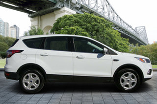 2017 Ford Escape ZG 2018.00MY Ambiente 2WD White 6 Speed Sports Automatic Wagon.