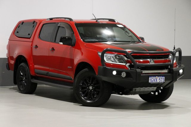 Used Holden Colorado RG MY17 Z71 (4x4), 2016 Holden Colorado RG MY17 Z71 (4x4) Red 6 Speed Automatic Crew Cab Pickup