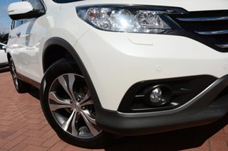 2014 Honda CR-V RM MY15 VTi-L 4WD White Orchid 5 Speed Sports Automatic Wagon.