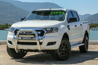 2015 Ford Ranger PX MkII XL Double Cab 4x2 Hi-Rider White 6 Speed Sports Automatic Utility.