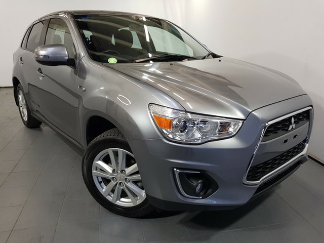 Used Mitsubishi ASX XB MY14 2WD, 2014 Mitsubishi ASX XB MY14 2WD Grey 6 Speed Constant Variable Wagon