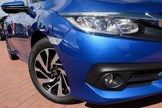 2018 Honda Civic 10th Gen MY18 VTi-S Blue 1 Speed Constant Variable Sedan.