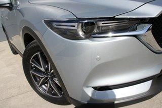 2019 Mazda CX-5 KF4WLA GT SKYACTIV-Drive i-ACTIV AWD Sonic Silver 6 Speed Sports Automatic Wagon.