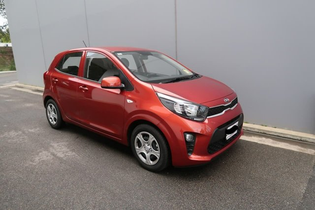 Demo Kia Picanto JA MY19 S, 2019 Kia Picanto JA MY19 S Orange 4 Speed Automatic Hatchback