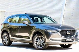 2019 Mazda CX-5 KF4WLA Akera SKYACTIV-Drive i-ACTIV AWD Machine Grey 6 Speed Sports Automatic Wagon.