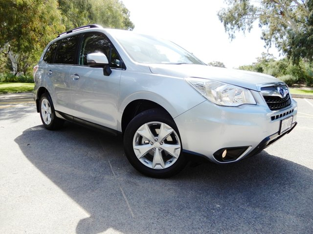 Used Subaru Forester S4 MY13 2.5i-L Lineartronic AWD, 2013 Subaru Forester S4 MY13 2.5i-L Lineartronic AWD Ice Silver 6 Speed Constant Variable Wagon