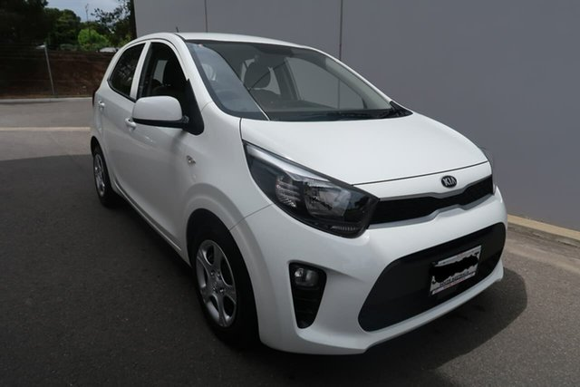 Demo Kia Picanto JA MY19 S, 2019 Kia Picanto JA MY19 S White 4 Speed Automatic Hatchback