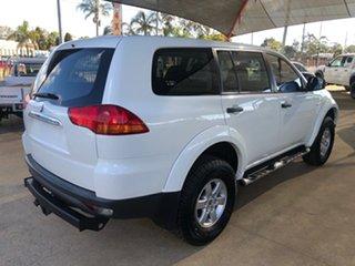 2011 Mitsubishi Challenger PB MY11 LS (5 Seat) (4x4) White 5 Speed Automatic Wagon