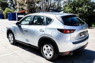 2019 Mazda CX-5 KF2W7A Maxx SKYACTIV-Drive FWD Sonic Silver 6 Speed Sports Automatic Wagon.