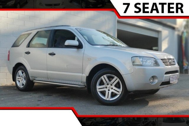 Used Ford Territory SY Ghia AWD, 2006 Ford Territory SY Ghia AWD Silver 6 Speed Sports Automatic Wagon