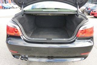 2005 BMW 5 Series E60 530i Steptronic Black 6 Speed Sports Automatic Sedan