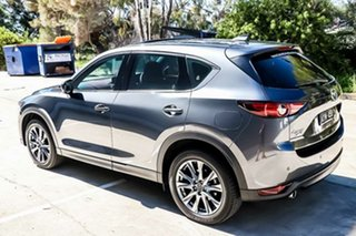 2018 Mazda CX-5 KF4W2A Akera SKYACTIV-Drive i-ACTIV AWD Machine Grey 6 Speed Sports Automatic Wagon.