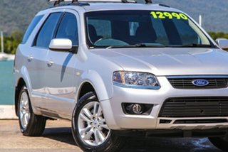 2009 Ford Territory SY MkII TS RWD Silver 4 Speed Sports Automatic Wagon.