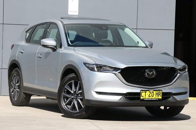 Used Mazda CX-5 KF4WLA GT SKYACTIV-Drive i-ACTIV AWD, 2019 Mazda CX-5 KF4WLA GT SKYACTIV-Drive i-ACTIV AWD Sonic Silver 6 Speed Sports Automatic Wagon