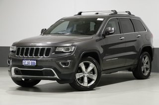 2013 Jeep Grand Cherokee WK MY14 Limited (4x4) Grey 8 Speed Automatic Wagon.