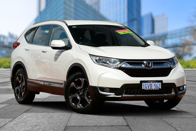 Used Honda CR-V RW MY18 VTi-S 4WD, 2018 Honda CR-V RW MY18 VTi-S 4WD White Orchid 1 Speed Constant Variable Wagon