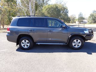 2016 Toyota Landcruiser VDJ200R MY16 GXL (4x4) Graphite 6 Speed Automatic Wagon.