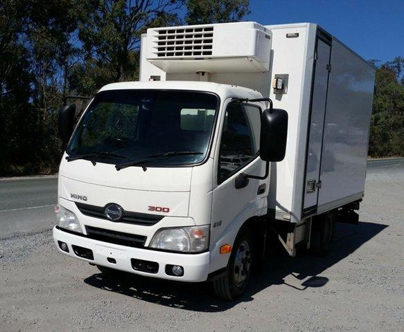 Used Hino 300 XZU605R 616 IFS Auto SWB, 2013 Hino 300 XZU605R 616 IFS Auto SWB Cab Chassis 4.0l 4x2