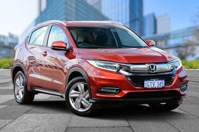 Used Honda HR-V MY18 VTi-S, 2018 Honda HR-V MY18 VTi-S Passione Red 1 Speed Constant Variable Hatchback
