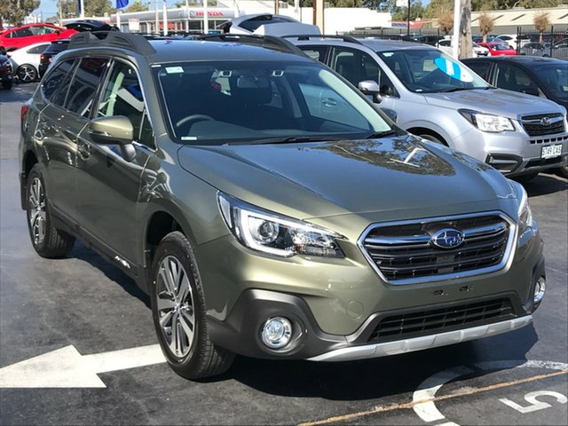 New Subaru Outback B6A MY19 2.5i CVT AWD, 2019 Subaru Outback B6A MY19 2.5i CVT AWD Wilderness Green 7 Speed Constant Variable Wagon