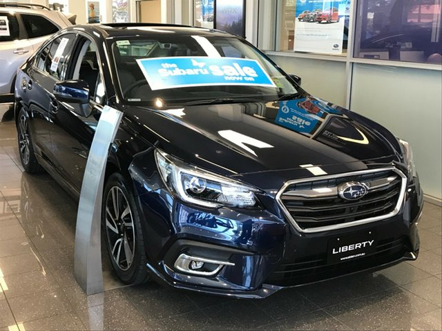 New Subaru Liberty B6 MY19 2.5i CVT AWD Premium, 2019 Subaru Liberty B6 MY19 2.5i CVT AWD Premium Dark Blue Pearl 6 Speed Constant Variable Sedan