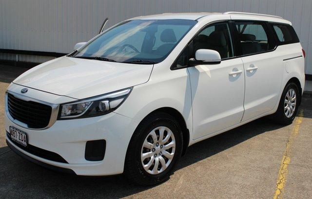 Used Kia Carnival YP MY16 S, 2016 Kia Carnival YP MY16 S White 6 Speed Sports Automatic Wagon