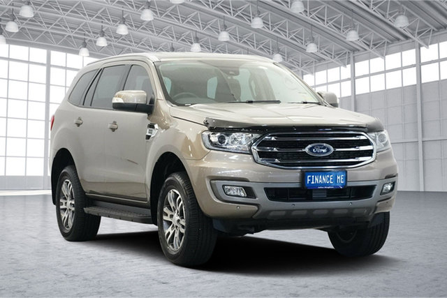 Used Ford Everest UA II 2019.00MY Trend RWD, 2018 Ford Everest UA II 2019.00MY Trend RWD Diffused Silver 10 Speed Sports Automatic Wagon