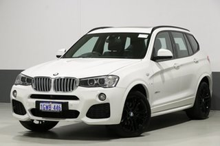 2017 BMW X3 F25 MY17 Update xDrive 30D Alpine White 8 Speed Automatic Wagon.