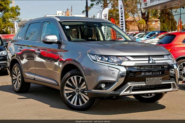 Demo Mitsubishi Outlander ZL MY19 Exceed AWD, 2019 Mitsubishi Outlander ZL MY19 Exceed AWD Titanium 6 Speed Constant Variable Wagon