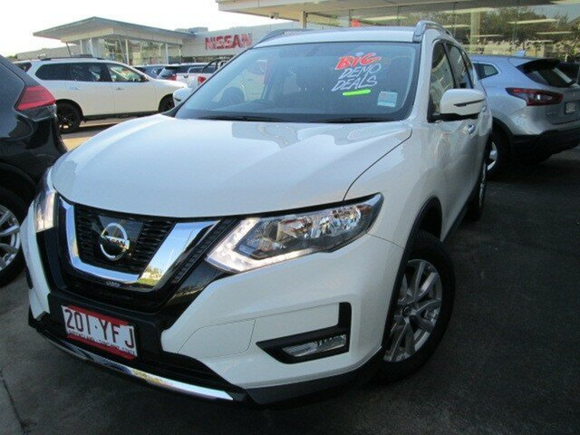 Demo Nissan X-Trail T32 Series II ST-L X-tronic 2WD, 2017 Nissan X-Trail T32 Series II ST-L X-tronic 2WD Ivory Pearl 7 Speed Constant Variable Wagon