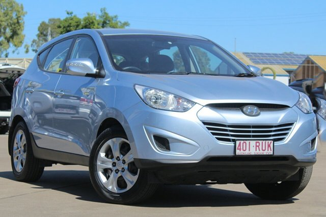 Used Hyundai ix35 LM MY12 Active, 2011 Hyundai ix35 LM MY12 Active Blue 6 Speed Sports Automatic Wagon