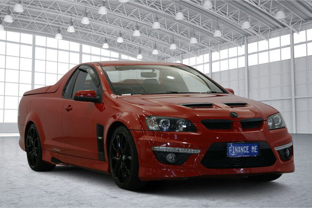 Used Holden Special Vehicles Maloo E Series 2 R8, 2009 Holden Special Vehicles Maloo E Series 2 R8 Red 6 Speed Manual Utility