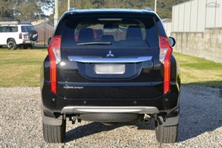 2018 Mitsubishi Pajero Sport QE MY18 GLS Pitch Black 8 Speed Sports Automatic Wagon.