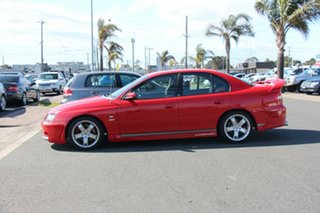 2002 Holden Special Vehicles ClubSport Y Red 6 Speed Manual Sedan