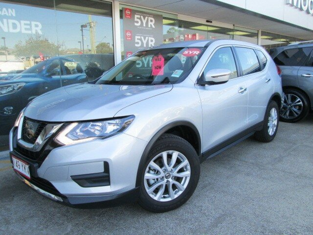 Demo Nissan X-Trail T32 Series II ST X-tronic 2WD, 2018 Nissan X-Trail T32 Series II ST X-tronic 2WD Brilliant Silver 7 Speed Constant Variable Wagon