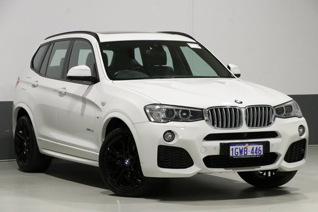 Used BMW X3 F25 MY17 Update xDrive 30D, 2017 BMW X3 F25 MY17 Update xDrive 30D Alpine White 8 Speed Automatic Wagon