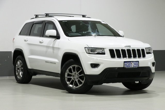 Used Jeep Grand Cherokee WK MY15 Laredo (4x4), 2015 Jeep Grand Cherokee WK MY15 Laredo (4x4) White 8 Speed Automatic Wagon