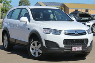 2015 Holden Captiva CG MY16 LS 2WD White 6 Speed Sports Automatic Wagon.